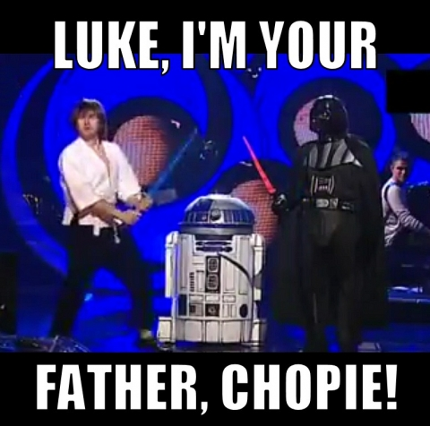 Luke, chopie!