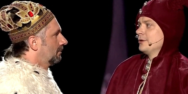 <b>Kabaret Młodych Panów</b> - Król ZUS (XVI Mazurska Noc Kabaretowa 2014)