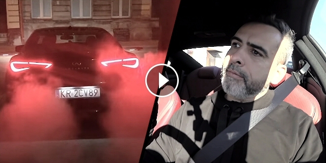 Pacześ - Czarna Wołga S01E04: Infiniti Q60S