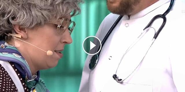 Krystyna i ksiądz u lekarza