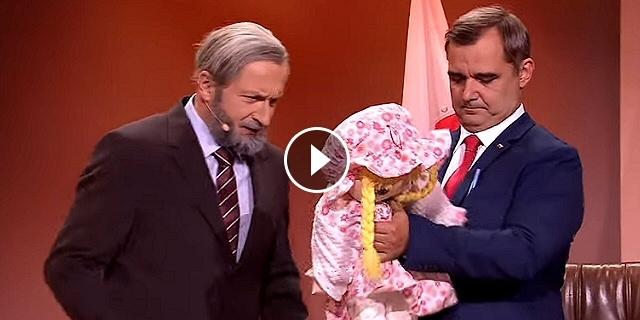 Prezydent Andrzej: Kinga i Dziadek